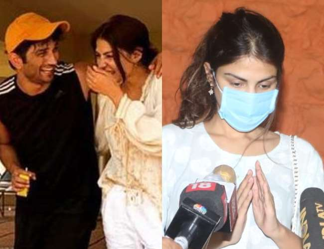 Police Question Sushant Singh Rajput S Girlfriend Rhea Chakraborty